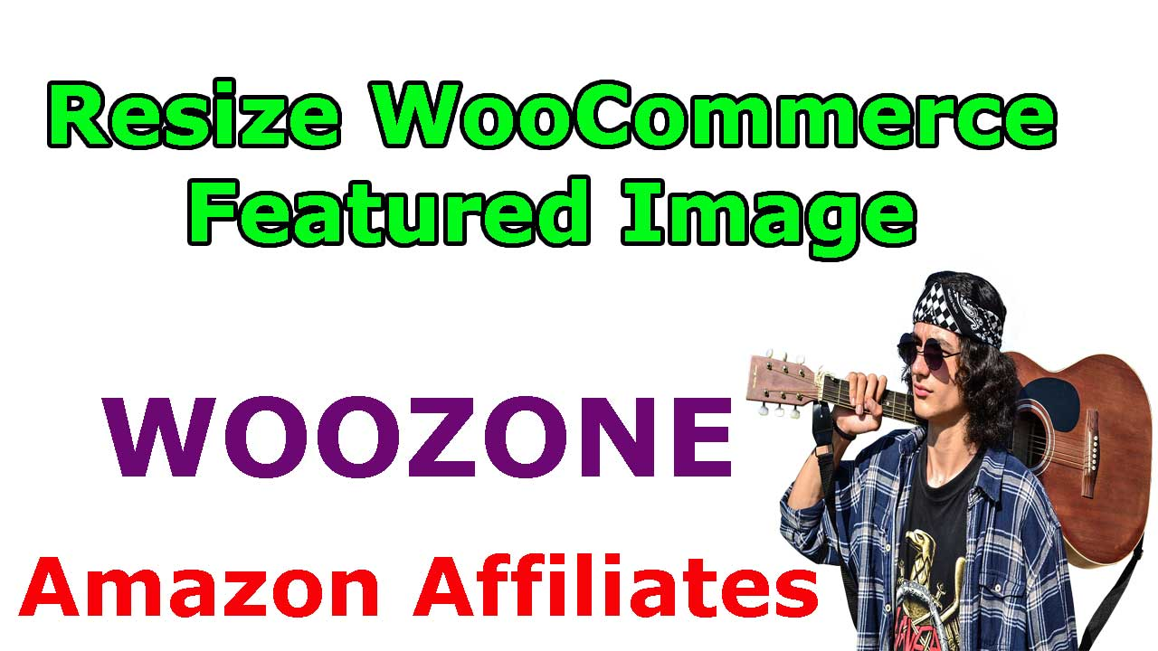 woocommerce featured image size