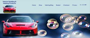 valeters car valeting and detailing products
