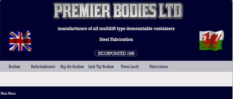 Premier bodies manufacturers of multilift demountable containers