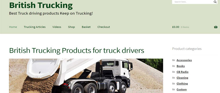 British Trucking