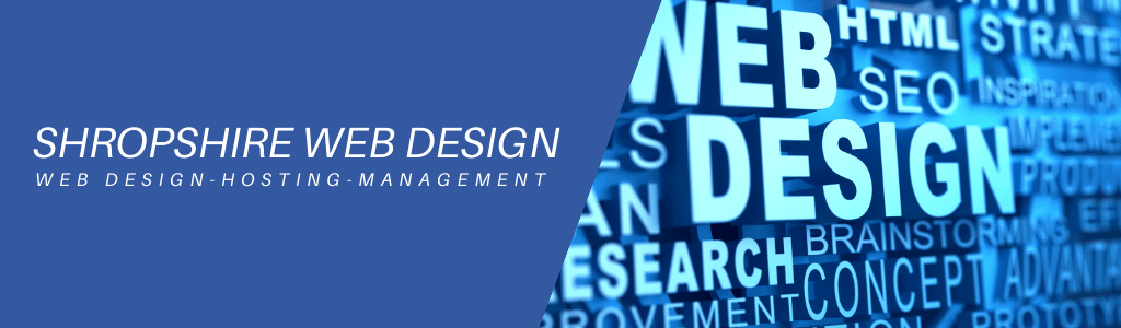 Shropshire Web Design Hosting Management