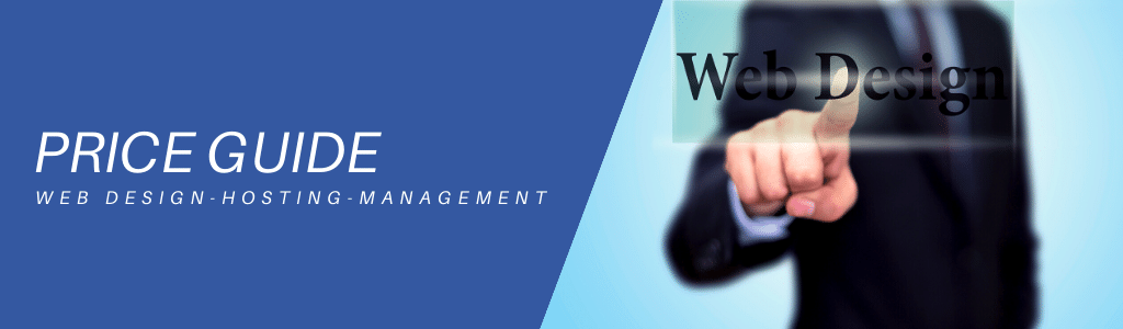 web design hosting management price guide