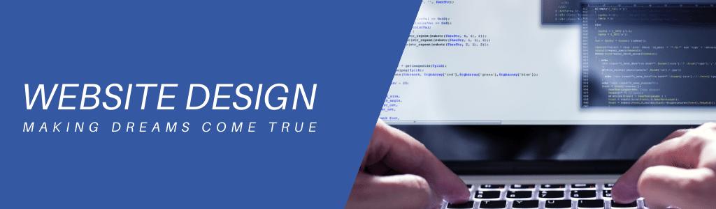 website design making dreams come true