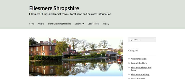 Ellesmere Shropshire